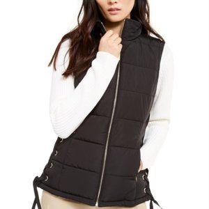 NWT Calvin Klein Puffer Zipper Sleeveless Vest